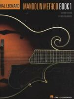 Hal Leonard Mandolin Method Book 1 TAB Music Learn How to Play Tutor