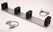 DIY Yagi Antenna Mounting Plate for Driven Element (30mm tubing / 60mm boom)