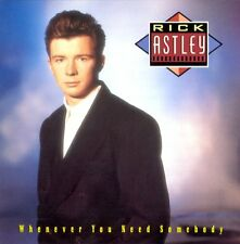 RICK ASTLEY : WHENEVER YOU NEED SOMEBODY (CD) sealed