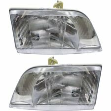 BLUE BIRD VISION SCHOOL BUS 2004 2005 2006 HEADLIGHT HEAD LAMP LIGHT - PAIR
