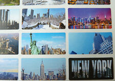 15 New York City NYC mirino & punti di riferimento, Sticky etichette, adesivi, ny5125