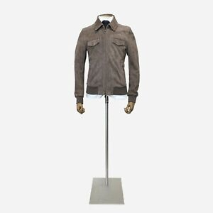 Canali Exclusive Suede Jacket. Size 38 UK, 48 IT.