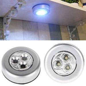 LED Touch Light Bulb Wireless Cordless Battery Operated Stick Up Night Wall Lamp