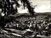 Luftkurort Lenzkirch Schwarzwald Postkarte ~1950/60 Gesamtansicht mit Umgebung