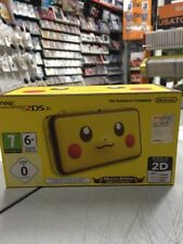 Console New Nintendo 2DS XL Pikachu Edition NUOVA SIGILLATA