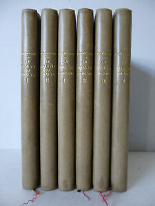 "GALSWORTHY (John). ""Comédie moderne"" en 6 volumes."