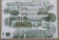 THOMAS BAYRLE Originalfarblithographie handsigniert Nr. 23/100 1.Mai um 1965