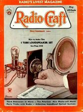 RADIO CRAFT MAGAZINE 1929-1948 early history 225 old issues DVD advertisements