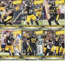 2019 PITTSBURGH STEELERS 40 Card Lot w PRESTIGE Team Set 25 CURRENT Players 3 RC