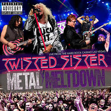TWISTED SISTER-METAL MELTDOWN BLU-RAY (3PC) (W/CD) (W/DVD) ONLY USED ONCE