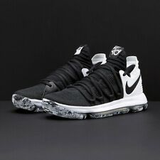 Nike Men's Zoom KD 10 Black White Size 12 Uk 47.5 Eu 897815-008