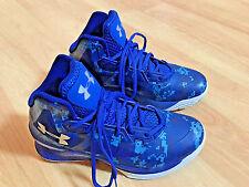 Under Armour UA Sz 8 Lightning 3 Royal Blue/Black Charged Basketball 1269277-907