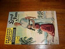 Classics Illustrated #136 (Hrn169), Lord Jim, stifff cover