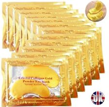 GOLD Collagen Bio Crystal Eye Mask Anti-aging Anti-wrinkle Lifting x 10 Eye10
