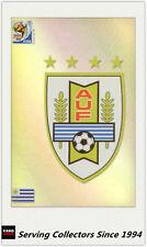 #35 Uruguay Logo 2010 Panini World Cup Soccer Trading Card