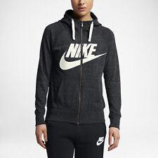 Nike Sportswear Gym Vintage Women's Full-Zip Hoodie L Heather gym Casual