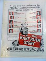 The Babe Ruth Ad Story Roy Delruth's William Bendix Claire Trevor Movie Promo