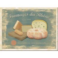 Magnet 14181-fromages du rhône - 8 x 6 cm-nuevo