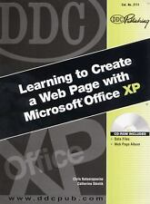 DDC Learning to Create a Web Page with Microsoft Office XP (DDC Learning Series)