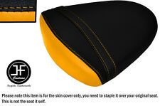 STYLE2 BLACK YELLOW VINYL CUSTOM FOR SUZUKI GSXR1000 K7 K8 07-08 REAR SEAT COVER