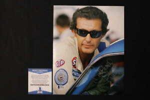 RICHARD PETTY SIGNED 8X10 PHOTO NASCAR AUTOGRAPH BECKETT COA JB881