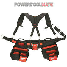 Milwaukee 48228120 Contractors Work Belt with Suspension Rig