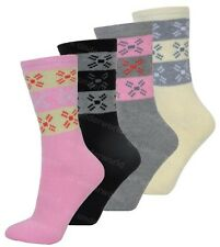 a566aee00a165 3 Pairs Ladies Thermal Boot Socks Extra Thick Heat Hiking Winter Warm 4-7