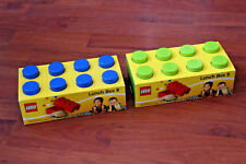 2 X NEW AND SEALED LEGO LUNCH BOXES, *** FREE P&P.