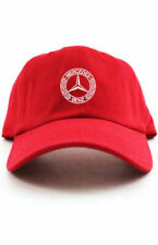 MERCEDES BENZ  Logo Dad Hat Baseball Cotton Cap Adjustable New - Red