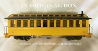 RARE Bachmann Big Haulers G Scale Virginia & Truckee Jackson Sharp Passenger Car