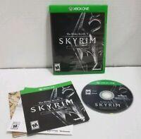 Elder Scrolls V: Skyrim Special Edition (Microsoft Xbox One, 2016) w/MAP CIB EUC