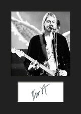 KURT COBAIN #4 Signed Photo Print A5 Mounted Photo Print - FREE DELIVERY