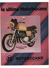 Pubblicità 1972 MOTO MOTOR MOTOBECANE 350 advertising reklame publicitè werbung