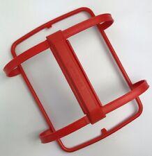 Tupperware PAPRIKA Orange Red Pack-N-Carry Lunch Box HANDLE  1322-3