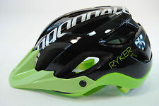 Cannondale Ryker AM Bicycle Helmet Black/Green/White 54-58cm Medium
