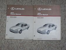 1993 Lexus ES300 ES 300 Workshop Shop Service Repair Manual Set Vol. 1-2