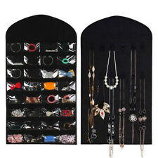 Jewelry Organizers Hanging Holders Earring Ring Necklace Wall Pocket Storage Bag