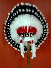 Native American Crazy Horse Feather Headdress War Bonnet