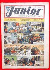 Coquelicot journal du JUNIOR n°27. Juillet 1947. SPE. Pellos, Tarzan...Bel état