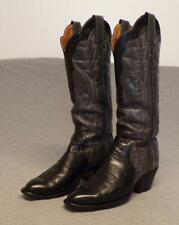 Vintage Laramie Western Cowboy Leather Riding Casual Dress boots women's 6C Usa