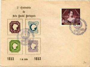 GP GOLDPATH: PORTUGAL COVER 1953 FIRST DAY OF ISSUE_CV678_P19