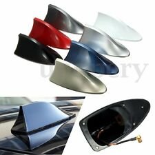 Car Auto Roof Style Shark Fin Antenna Radio Signal AM FM Aerials For VW Audi