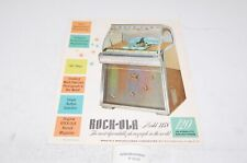 Rock Ola Model 1458 Jukebox Werbeflyer (P5519)