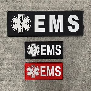 Medic & EMS Star of Life Reflective First Aid Morale Patch, Trauma Pack, Bergen