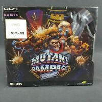 Mutant Rampage Bodyslam Philips CD-i 1994 Compact Disc Interactive New Sealed