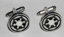 Star wars boutons de manchette de l'empire Star wars Imperial metal cufflinks