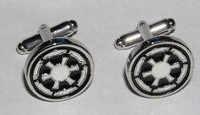 Star wars boutons de manchette de l'empire Star wars Imperial metal cufflinks