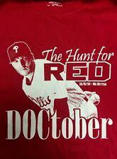 Philadelphia Phillies Roy Halladay Doctober Playoff No Hitter (10/6/10) T-shirt