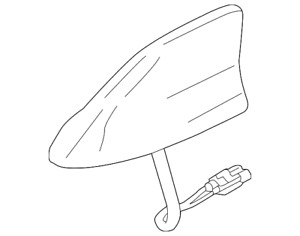 Genuine Ford Antenna Base JJ7Z-18936-AAPTM