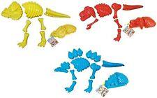 ToyZe® 3 Large Dinosaur Sand Molds, Dinosaur Fossil Skeleton Beach Toy Set